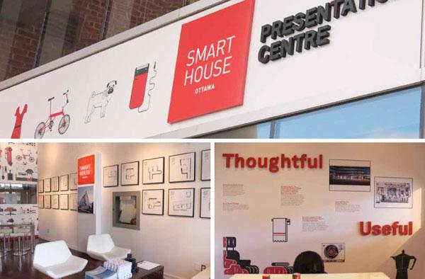 Featured RGD: Aimee Wood. Portfolio piece of Smart House, Presentation Centre
