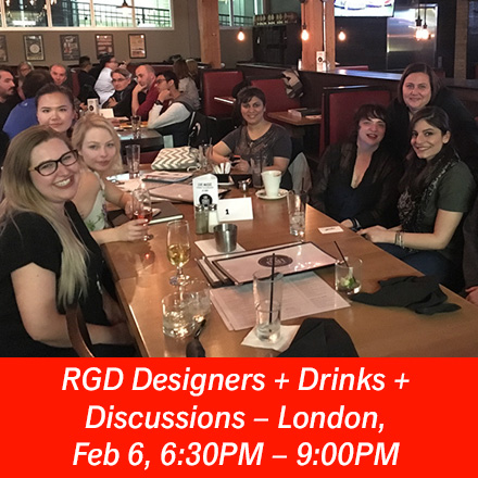 AD – Designers + Drinks + Discussions, London