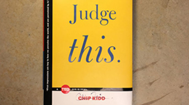 Chip Kidd: Judge This
