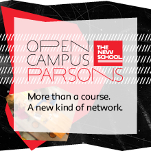 Open Campus Parsons: More than a course. A new kind of network.
