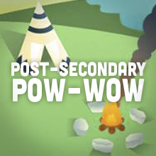 Ad: post-secondary pow-wow