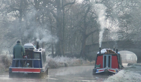 First winter afloat?