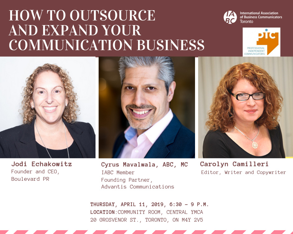 Next week! How to outsource and expand your communication business