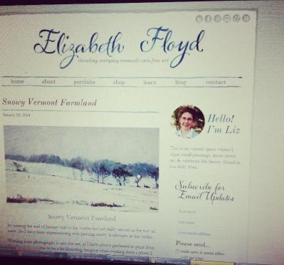 New Elizabeth Floyd Studio blog