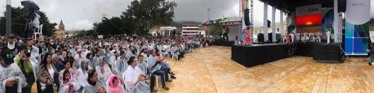 Ante más de 2.000 asistentes el talento joven de Colombia celebró el 20 de julio en Pamplona