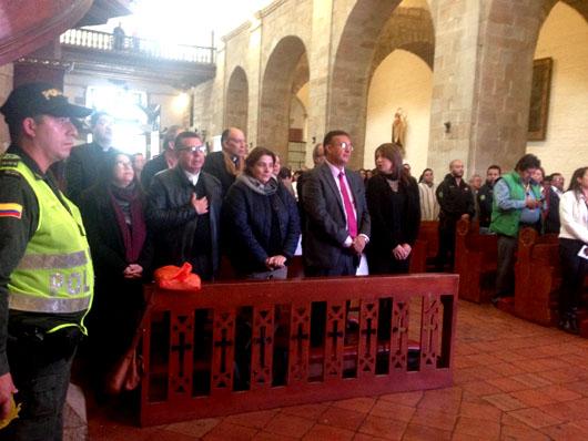 MinCultura entregó obras de restauración de la Basílica y Claustro de Monguí