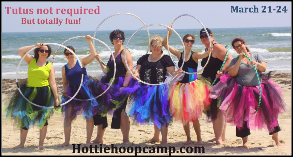 Hotties in tutus on the beach!