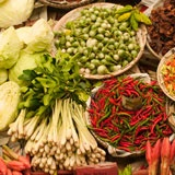 Photo of vegetables at market