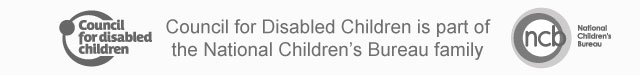 Council for Disabled Children is part of the the National Children's Bureau family