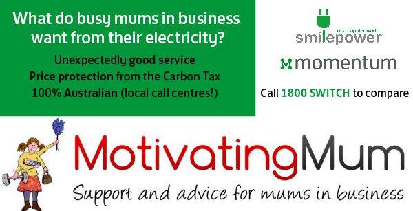 Motivating Mum, Momentum Energy