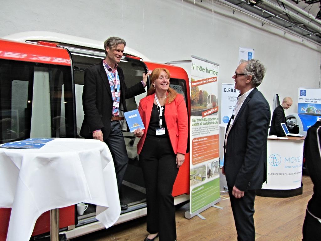 SJ besöker KOMPASS under Ekotransport 2030