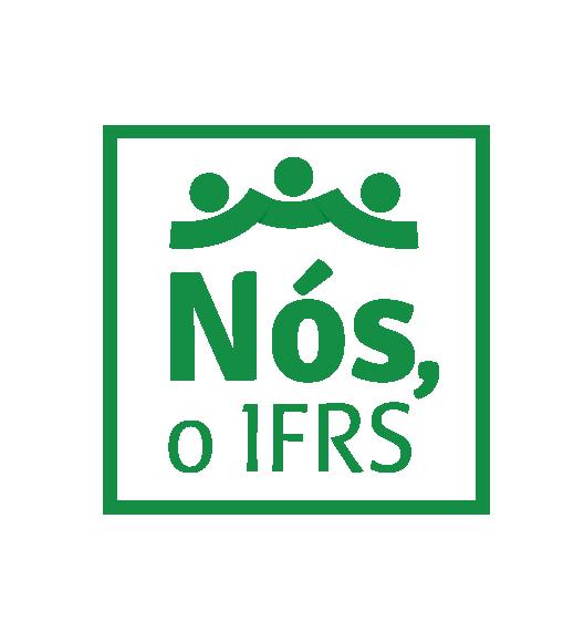 Marca da campanha Nós, o IFRS