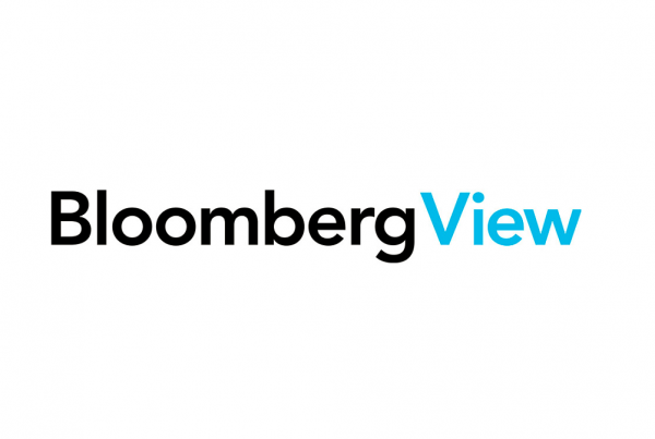 Bloomberg View Logo- weekly market commentary