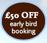 Early Bird Booking Discount