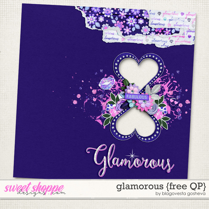 Glamorous on sale and freebies!