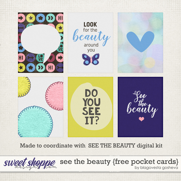Two new kits on sale & a freebie