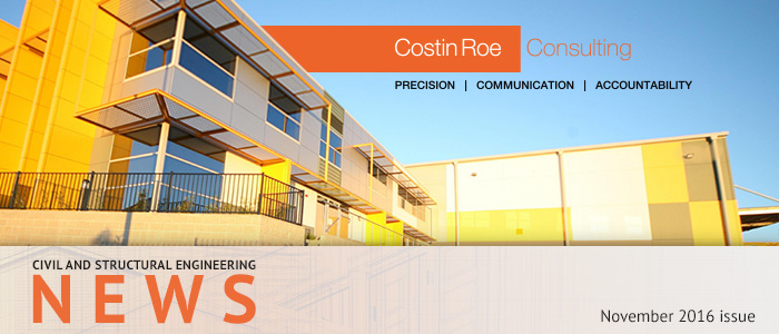 Costin Roe Consulting news