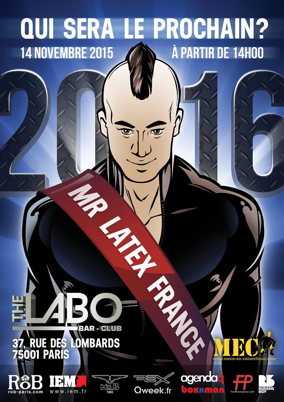 MISTER LATEX FRANCE 2016