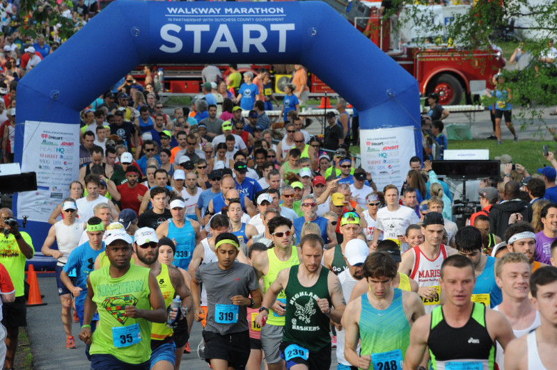 Register for the 3rd Annual Walkway Marathon. Visit WalkwayMarathon.org.