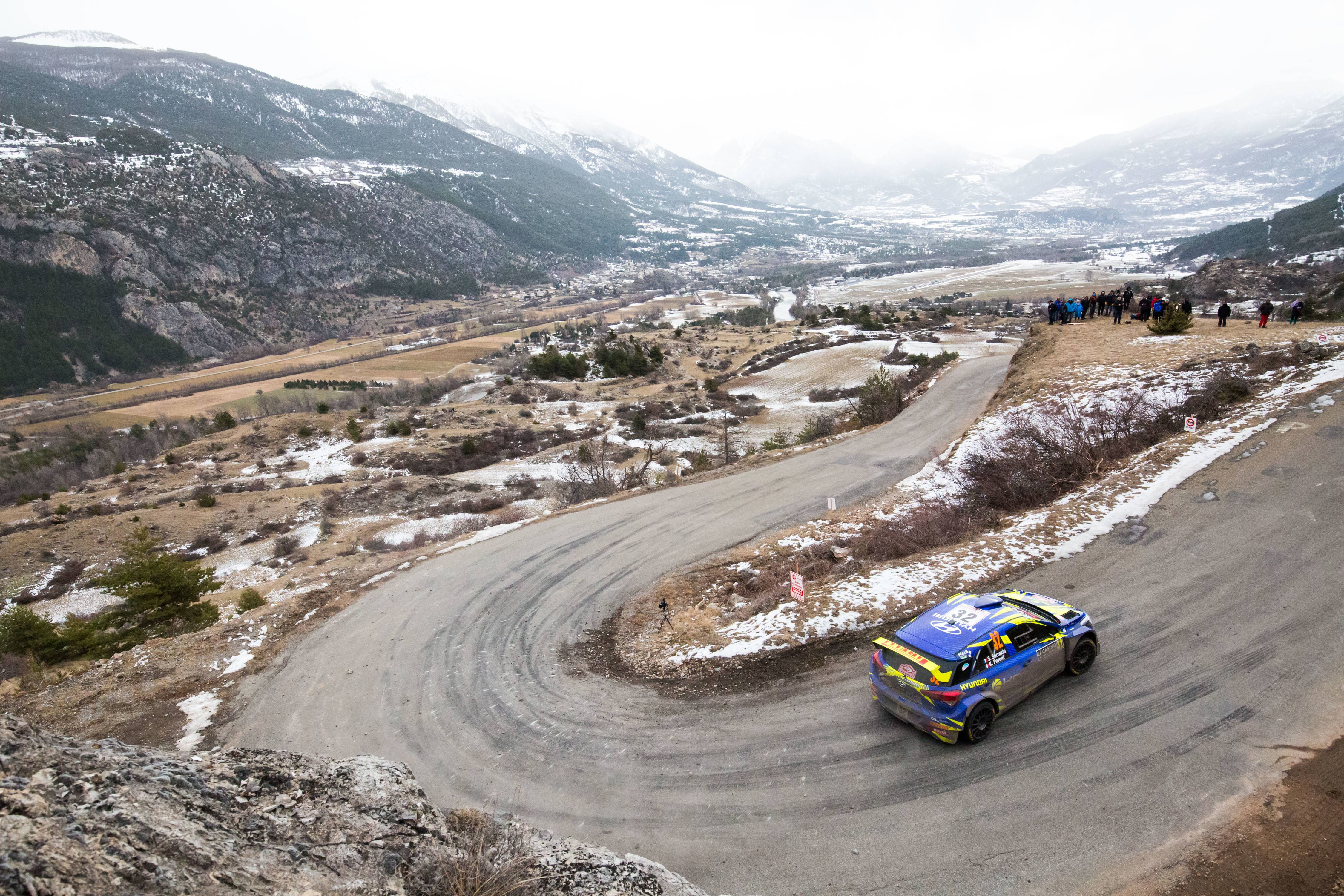 Stephane Sarrazin - i20 R5 - Rallye Monte-Carlo