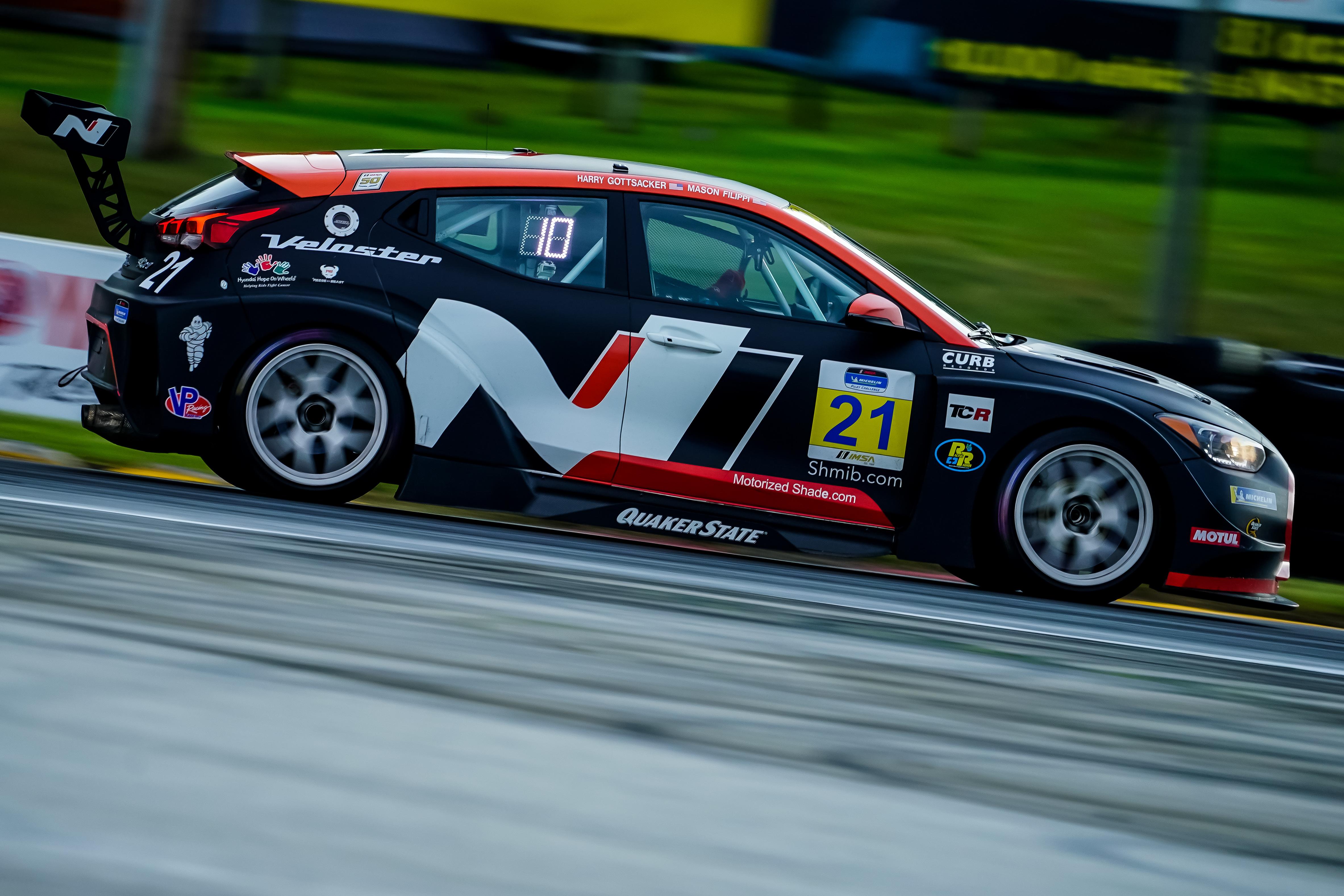 Mason Filippi, Harry Gottsacker - IMSA Michelin Pilot Challenge - Road America