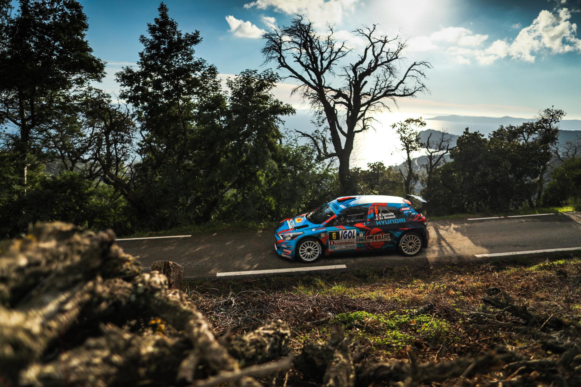 Stephane Sarrazin - i20 R5 - Rallye du Var