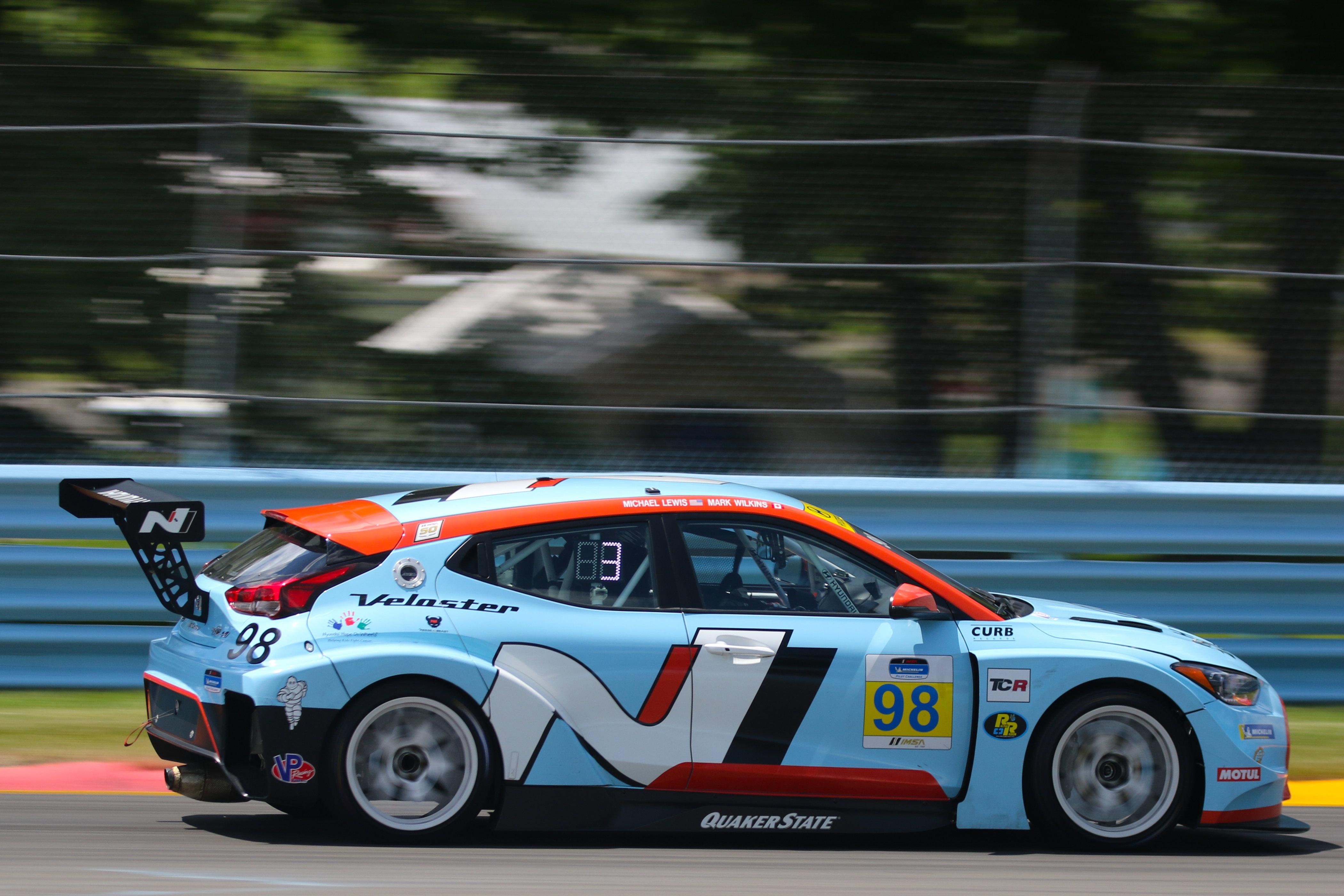 Mark Wilkins, Michael Lewis - IMSA Watkins Glen