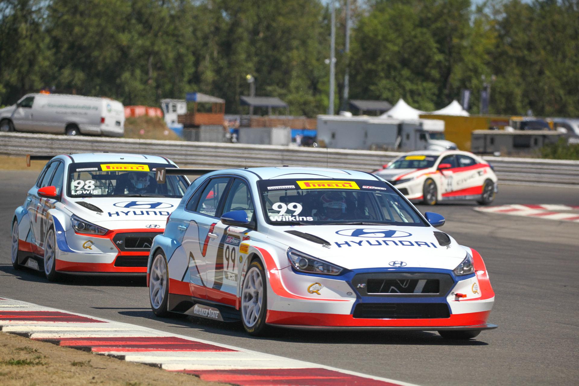 Bryan Herta Autosport - i30 N TCR - Portland International Raceway