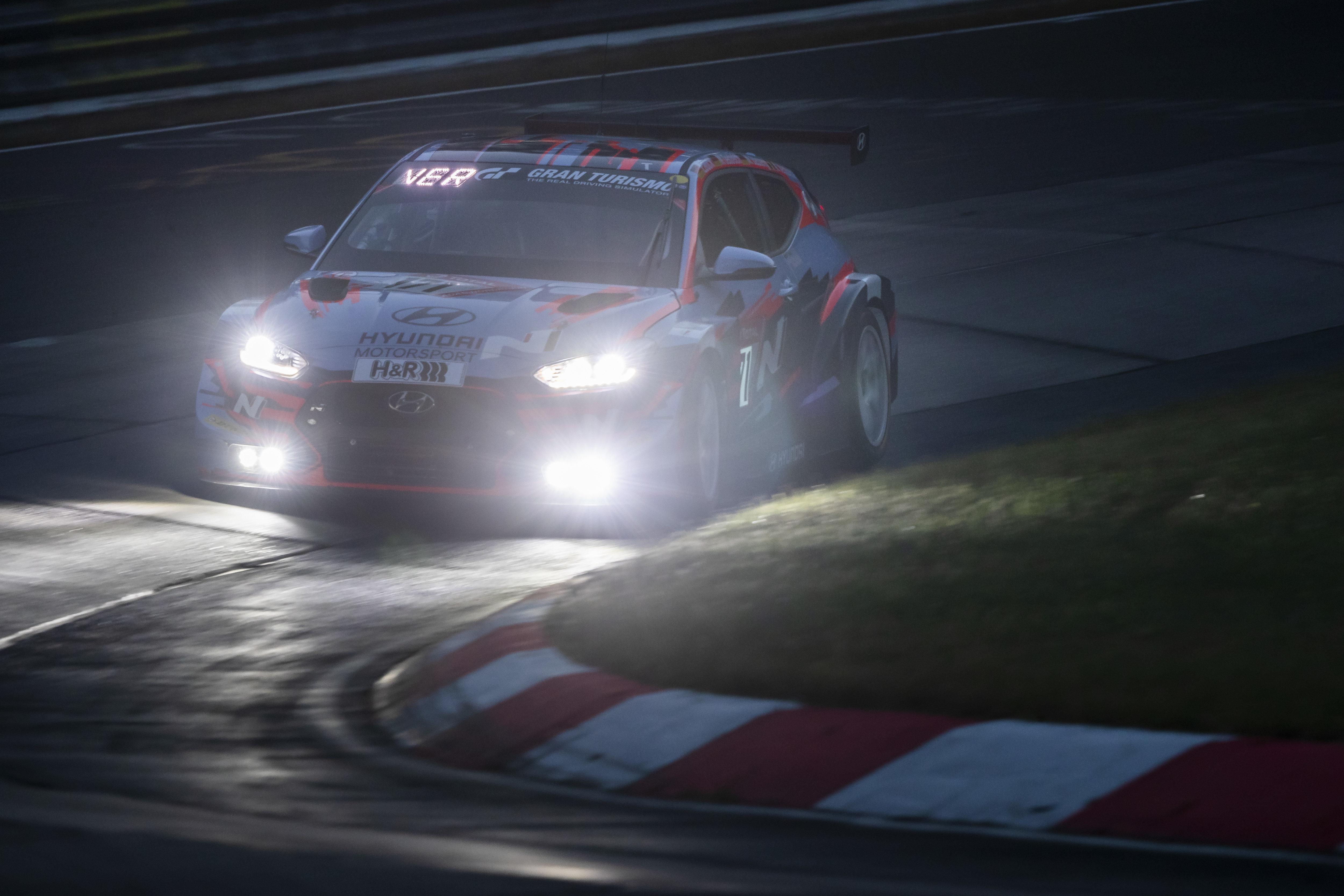 Hyundai Veloster N TCR - Nürburgring 24 Hours