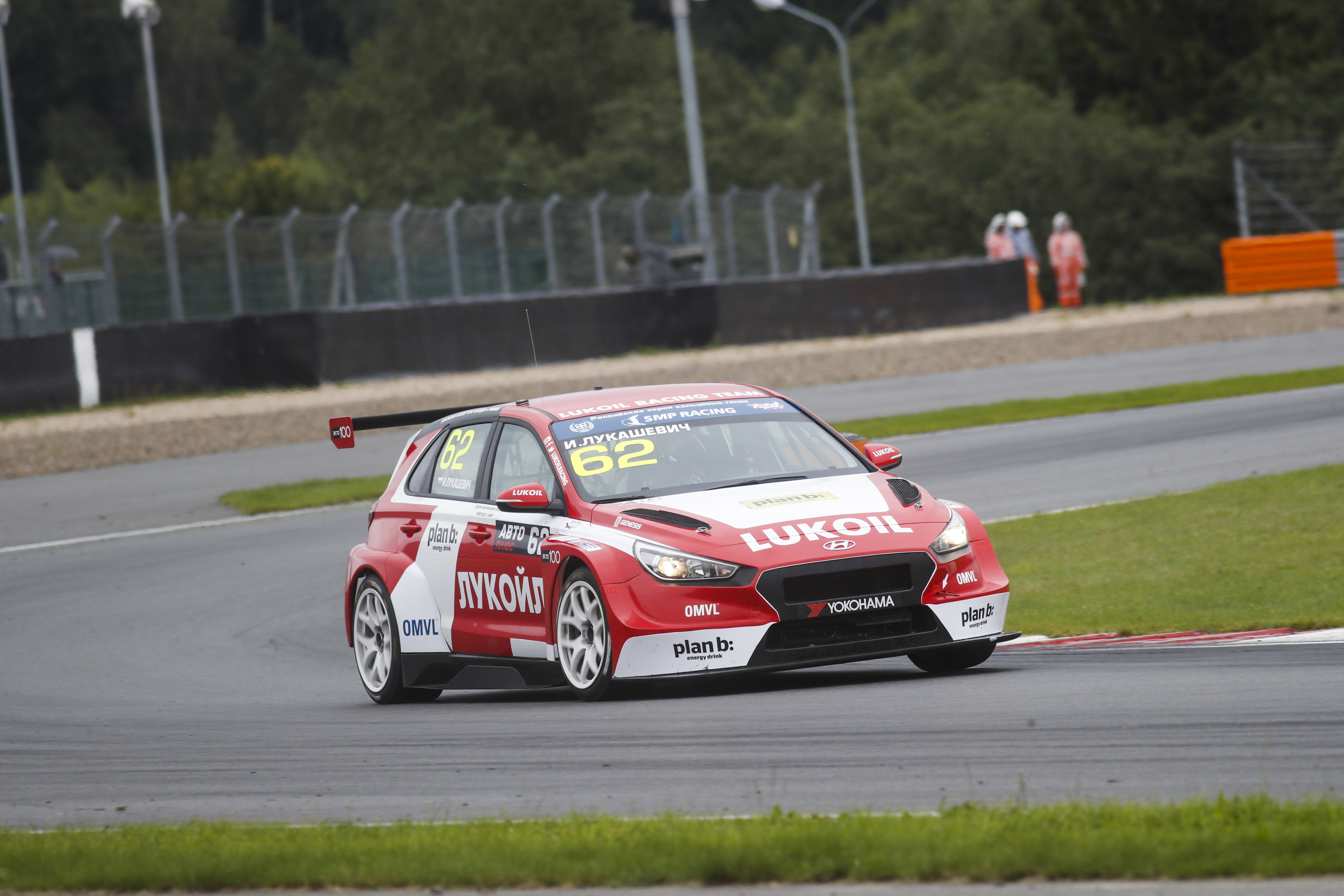Ivan Lukashevich - TCR Russia - Moscow Raceway