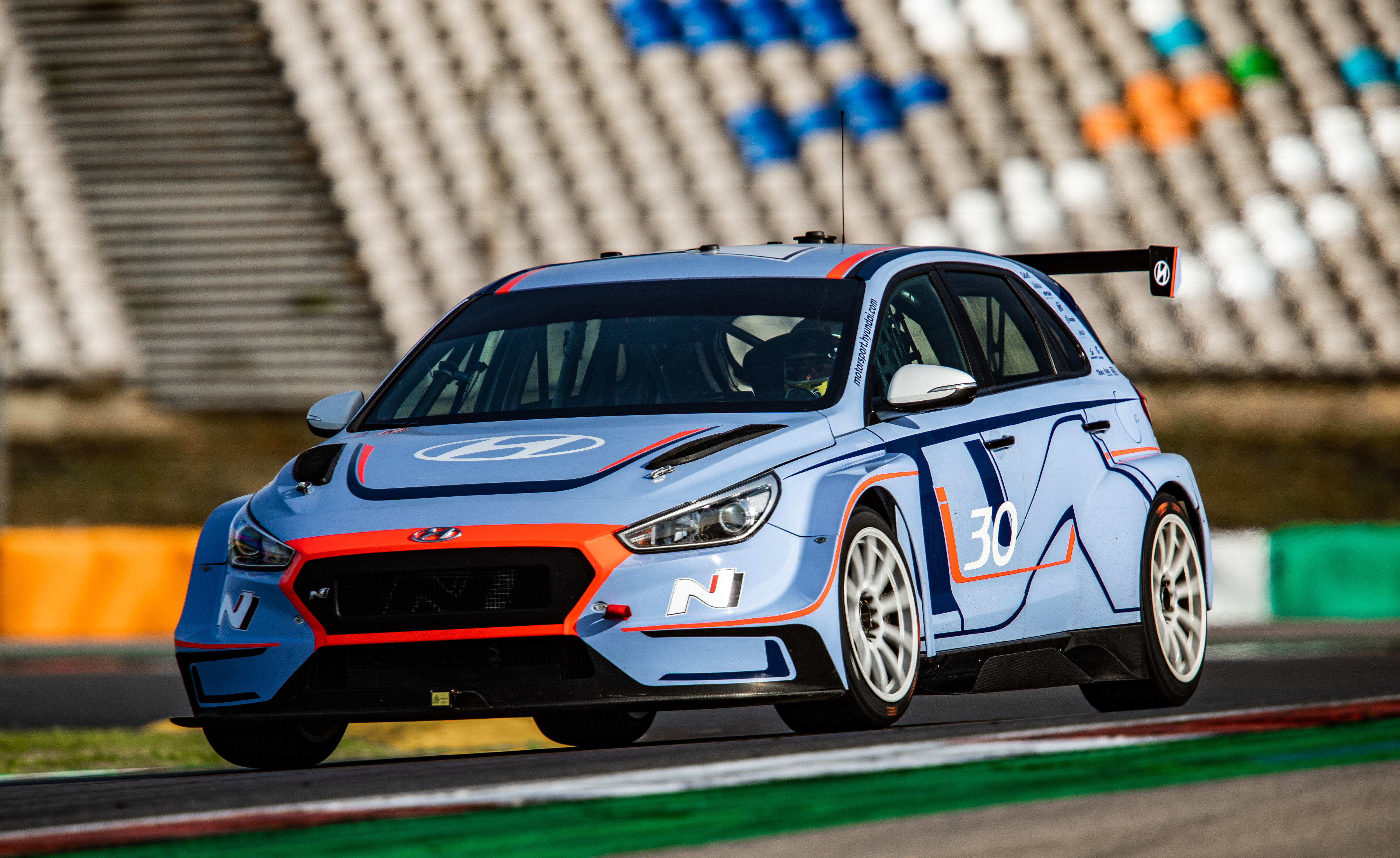 Hyundai i30 N TCR - Portimao Test
