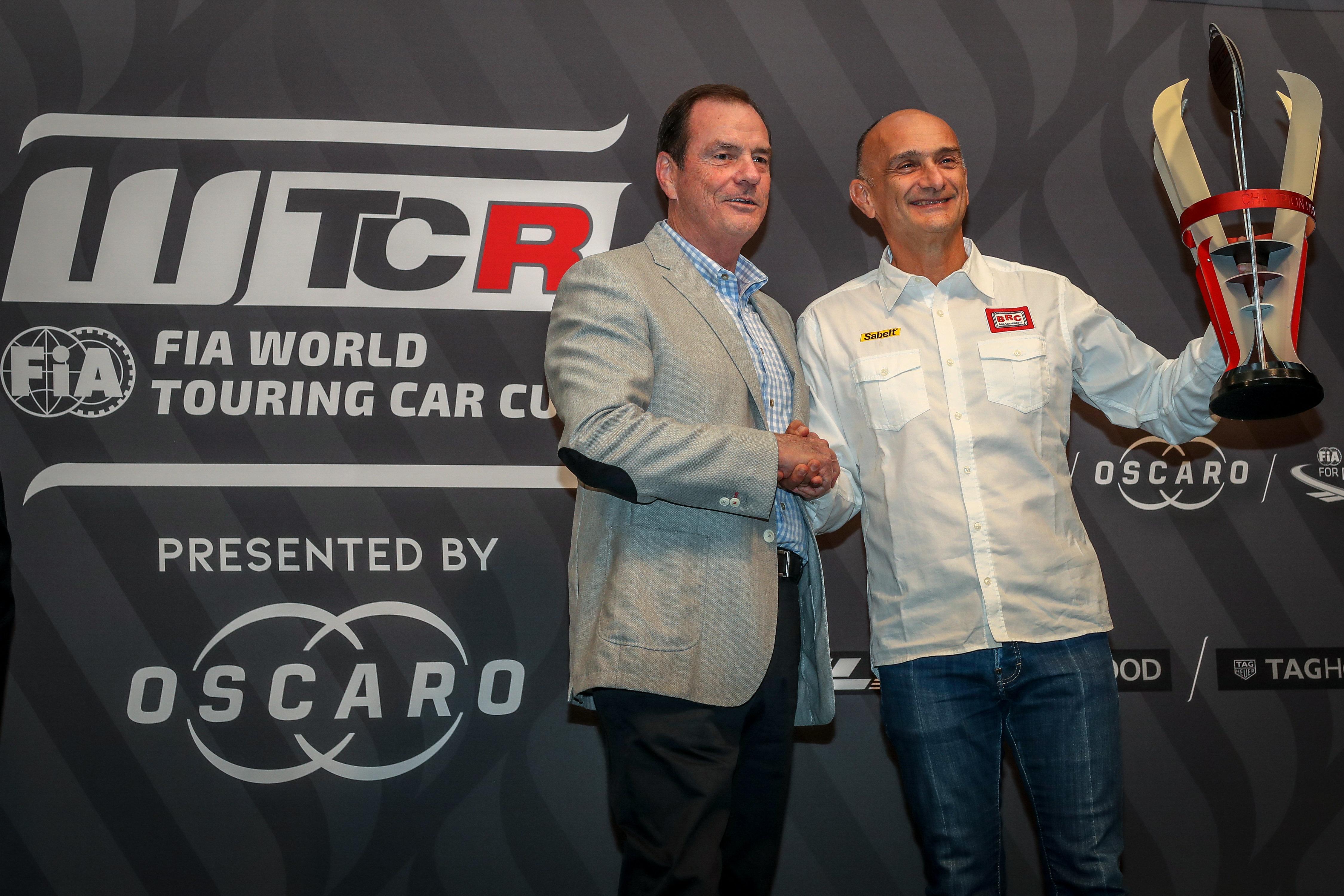 Gabriele Tarquini - FIA WTCR Prize Giving