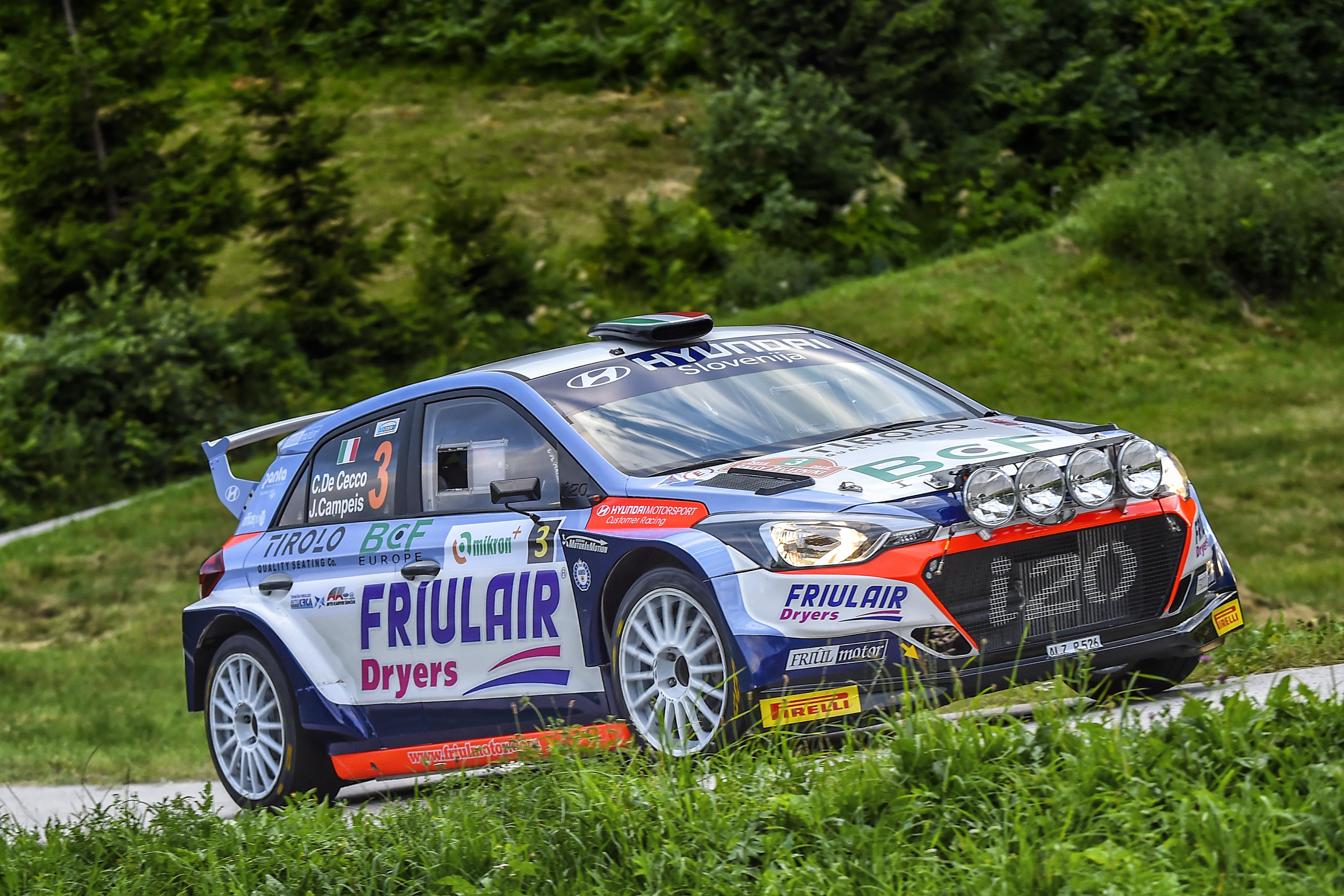 Claudio de Cecco - i20 R5 - Rally Zelezniki