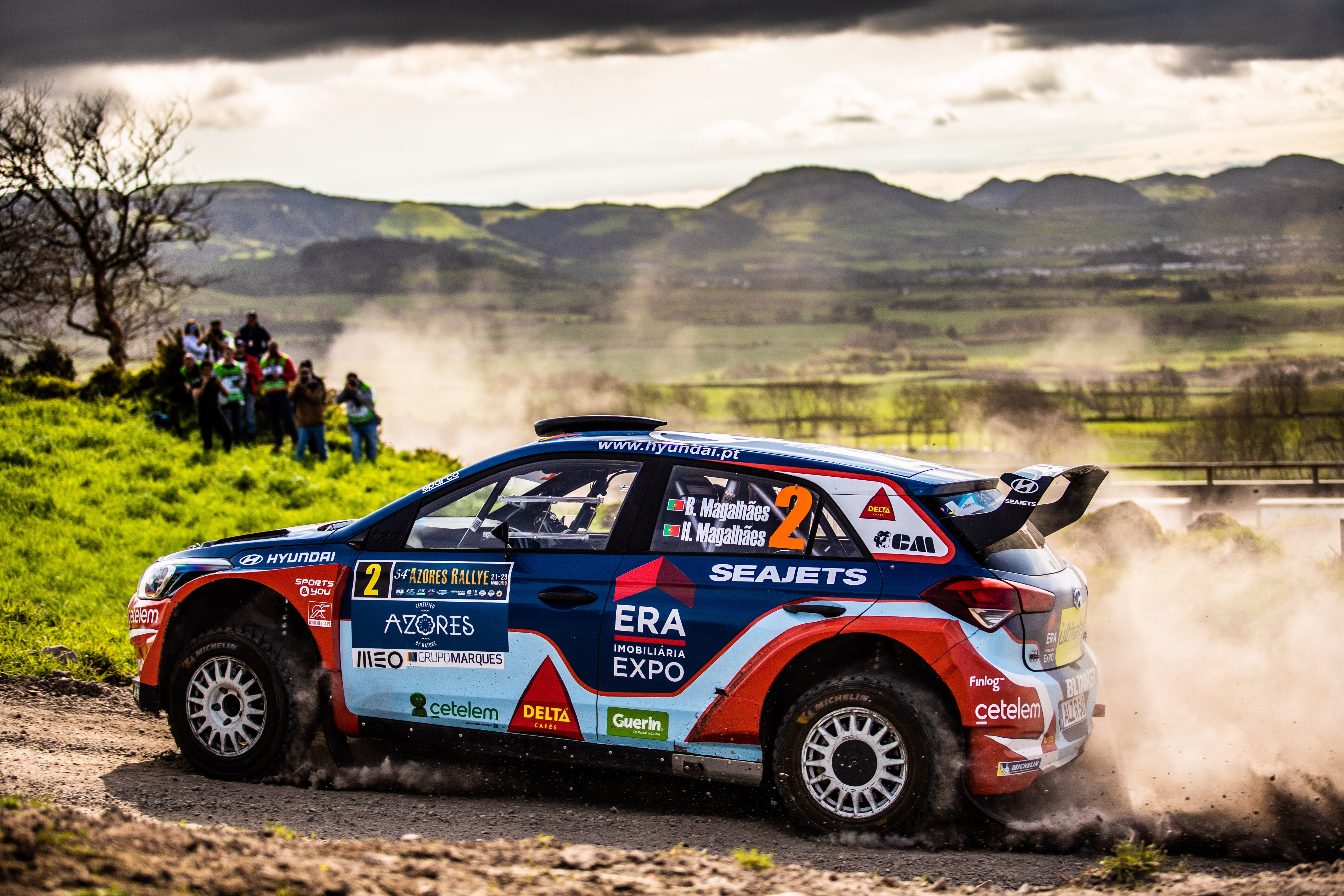 Bruno Magalhaes - i20 R5 - Azores Rally