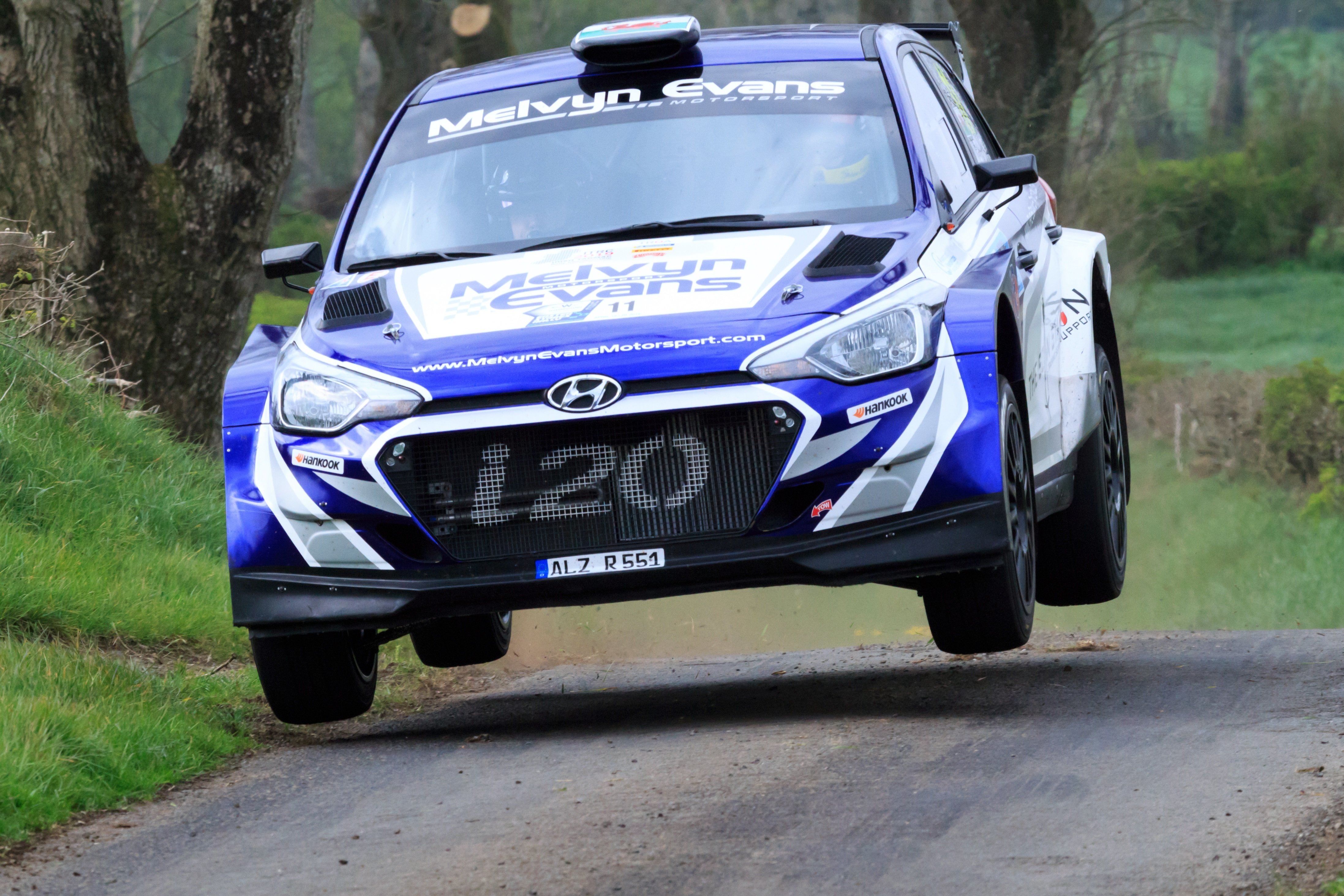 Meirion Evans - UAC Easter Stages