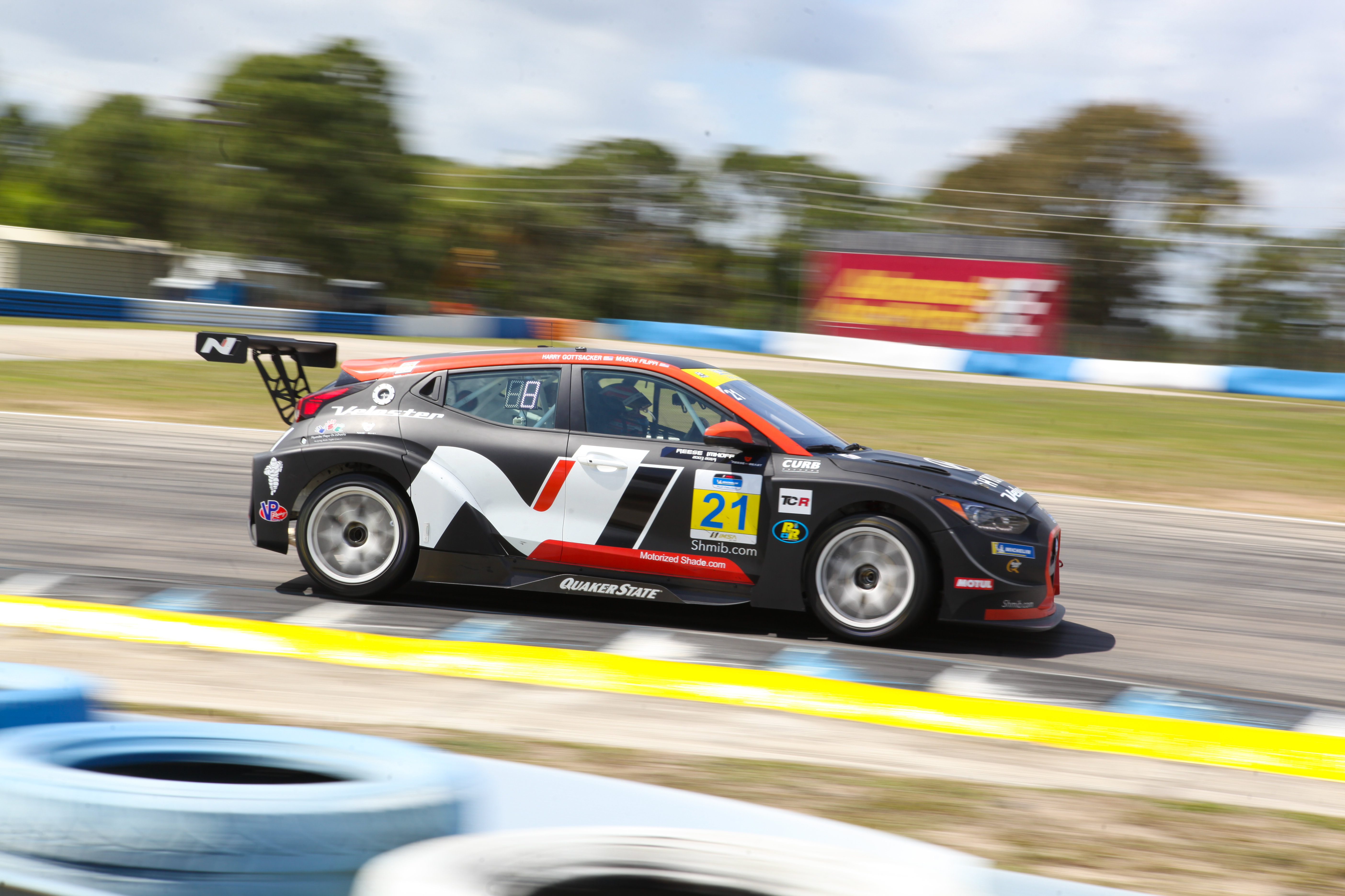 Harry Gottsacker/Mason Filippi - Veloster N TCR - Sebring International Raceway