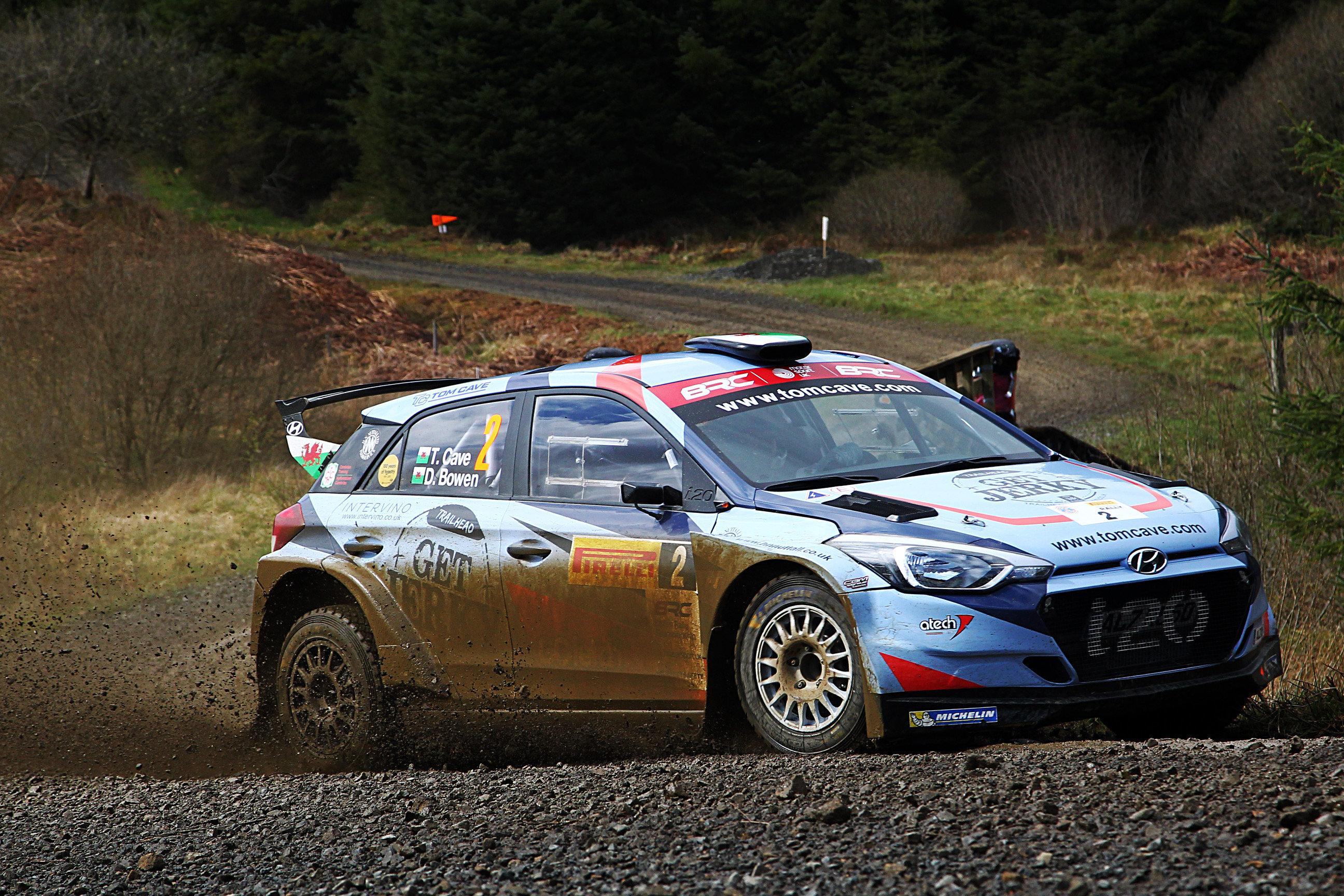 Tom Cave - Pirelli International Rally