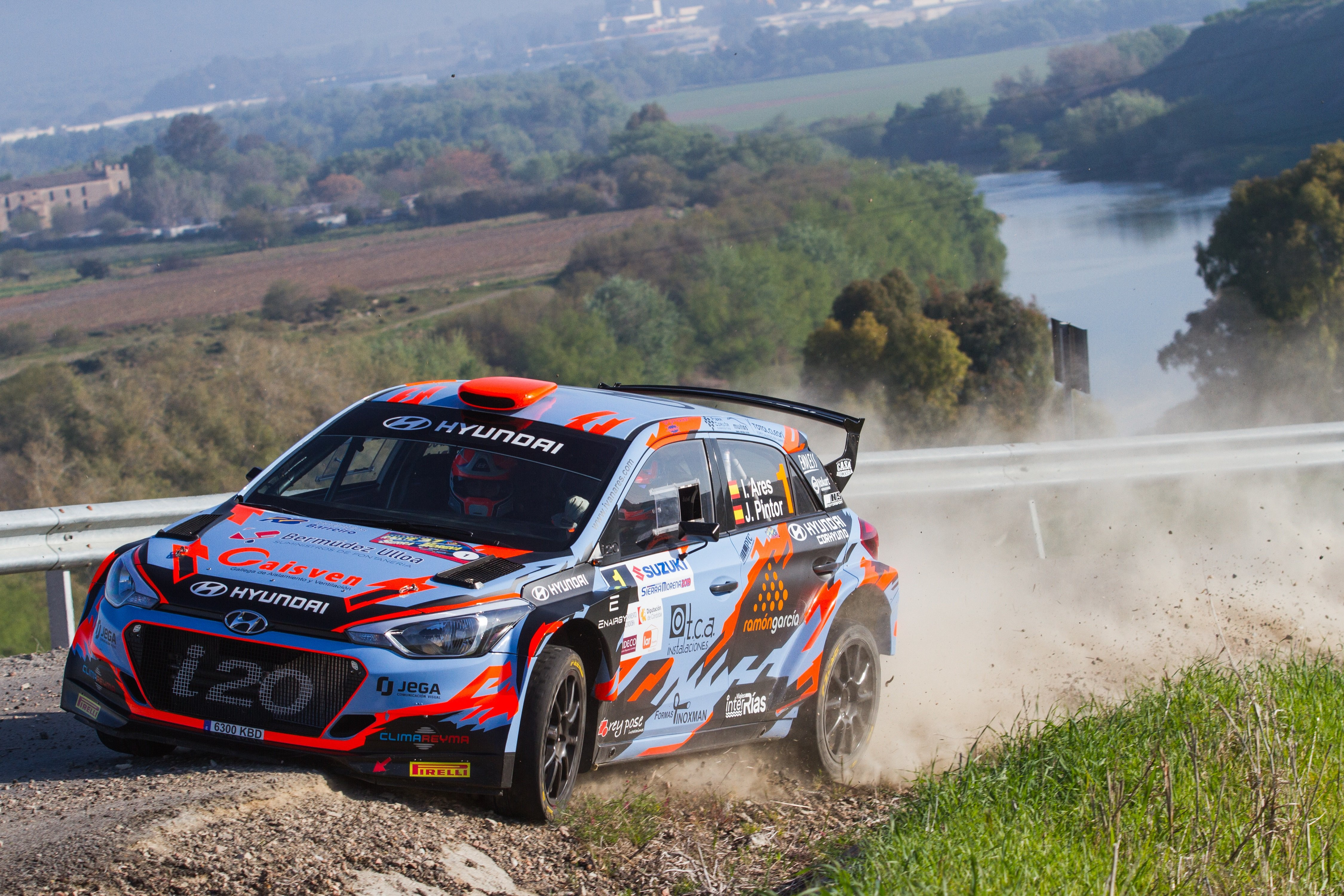 Ivan Ares - i20 R5 - Rallye Sierra Morena
