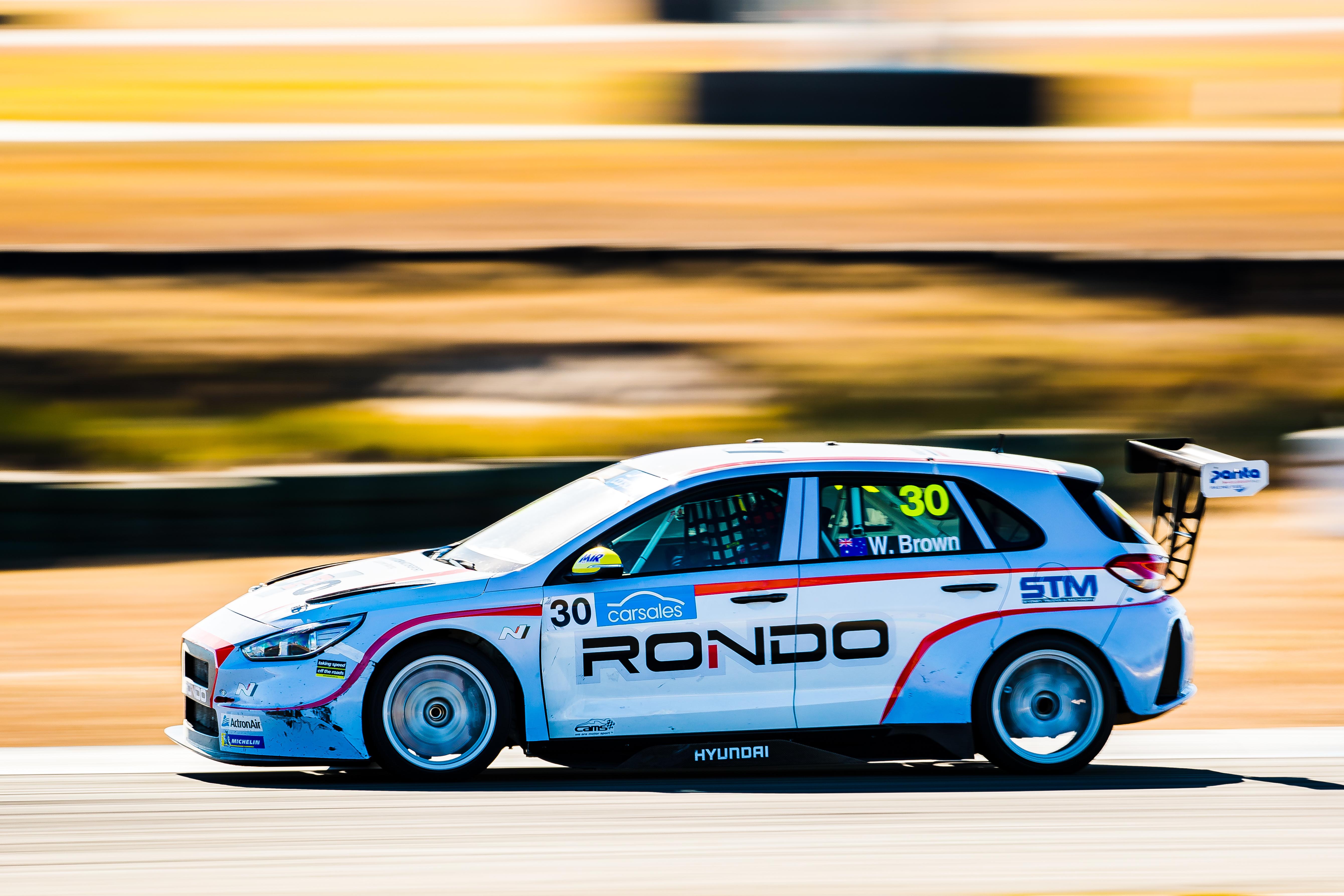 Will Brown - TCR Australia - Queensland Raceway