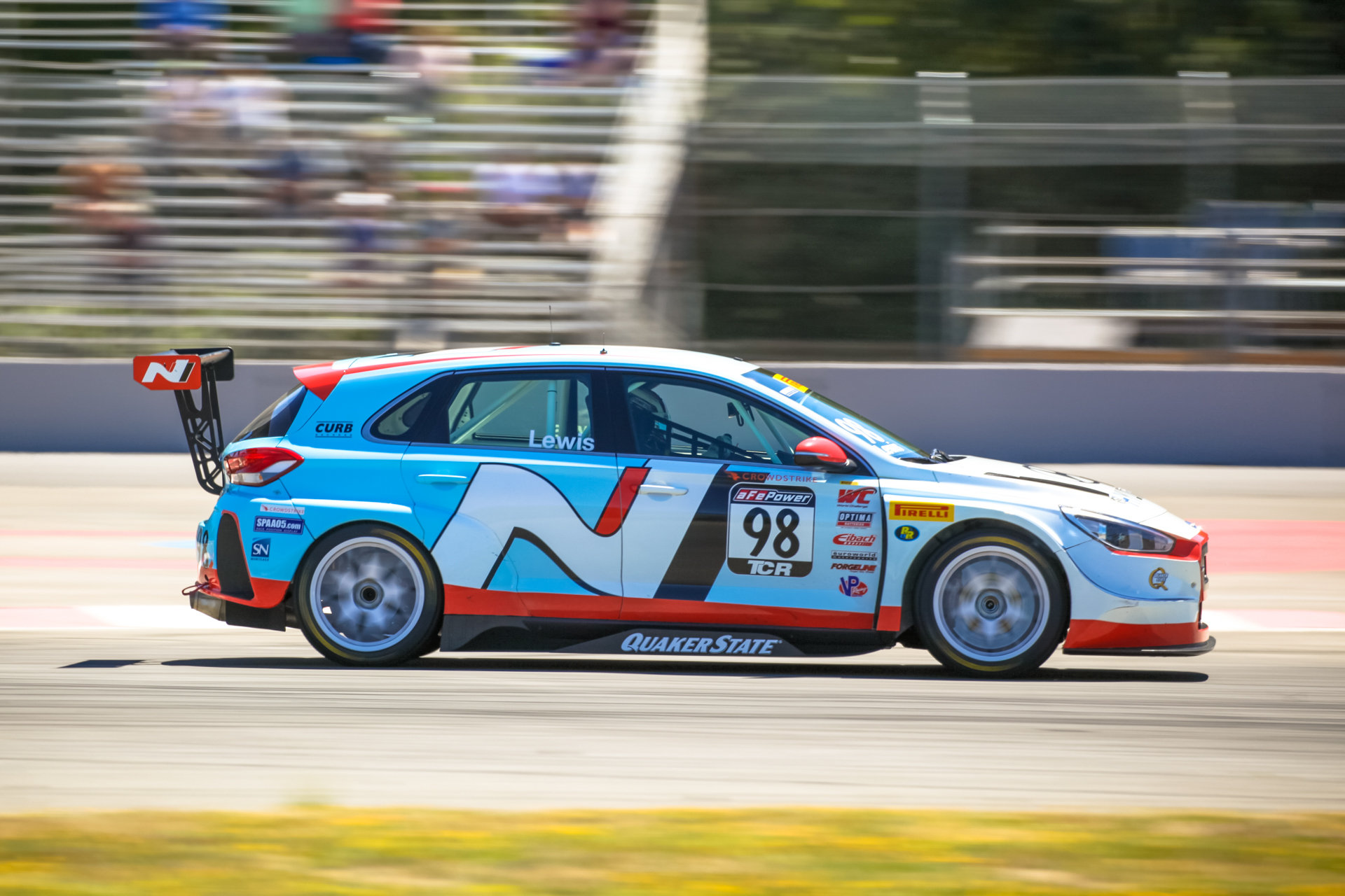 Michael Lewis - i30 N TCR - Portland International Raceway