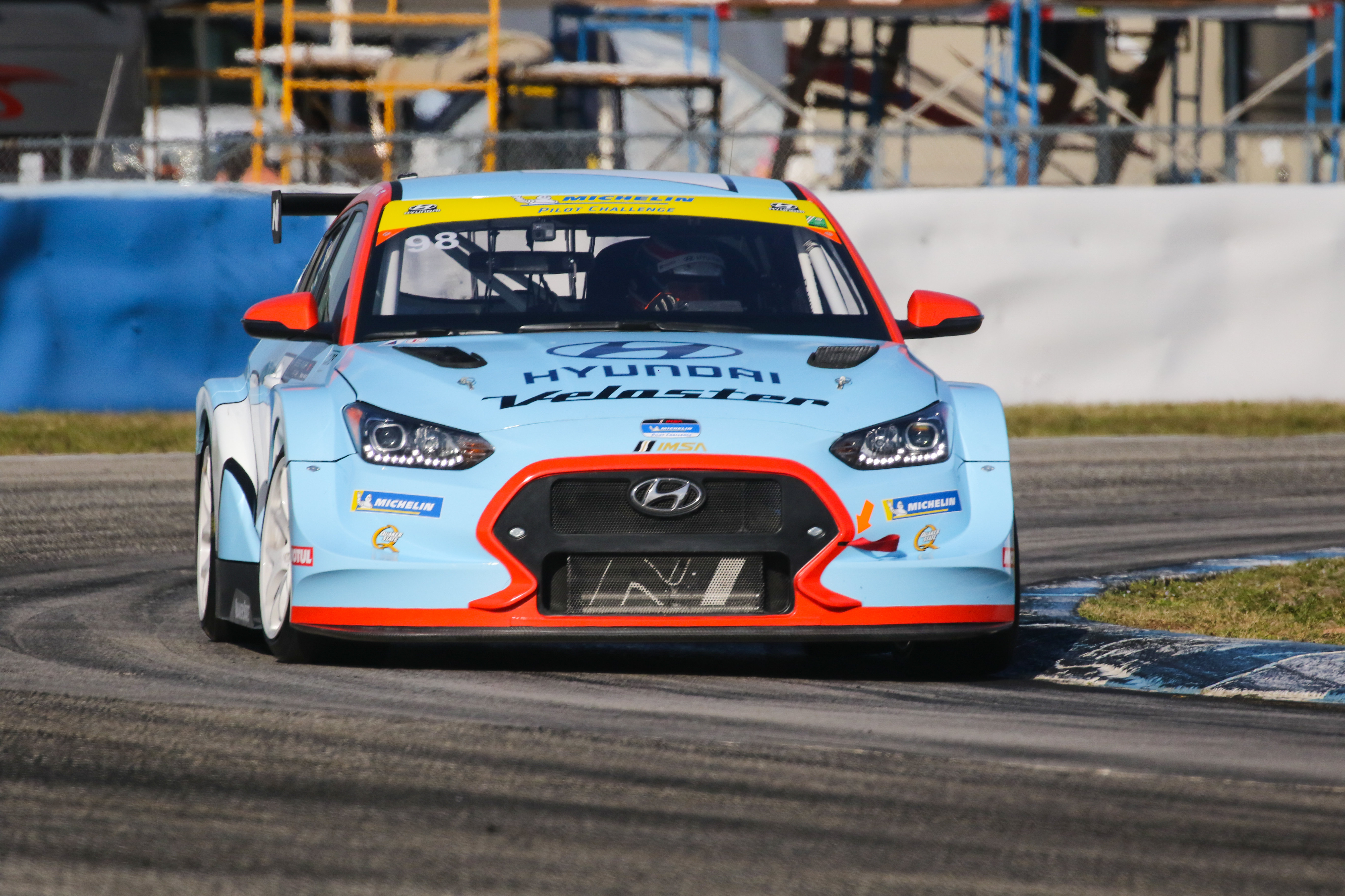 Mark Wilkins/Michael Lewis - Veloster N TCR - Sebring International Raceway
