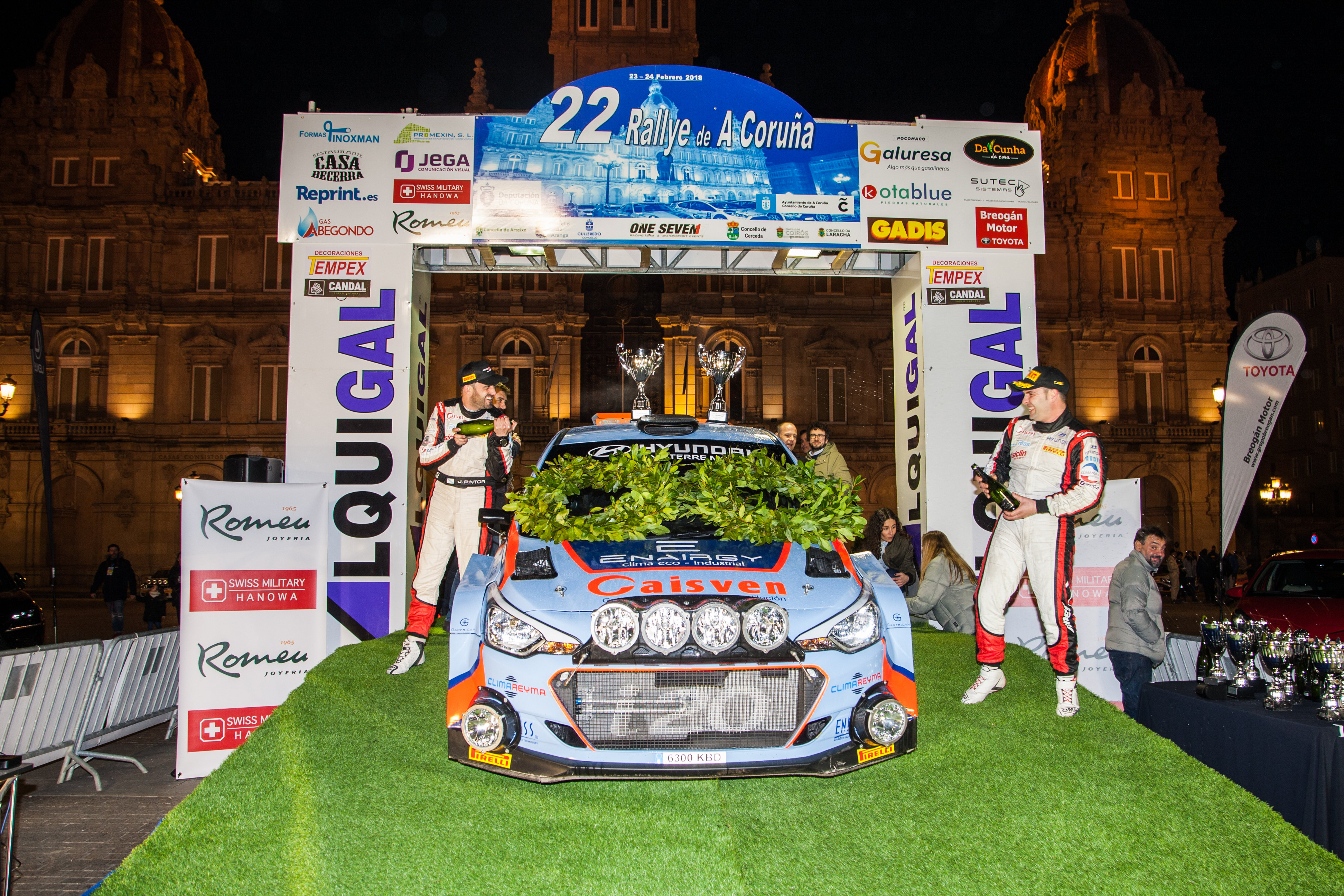 Ivan Ares - Rallye de A Coruna
