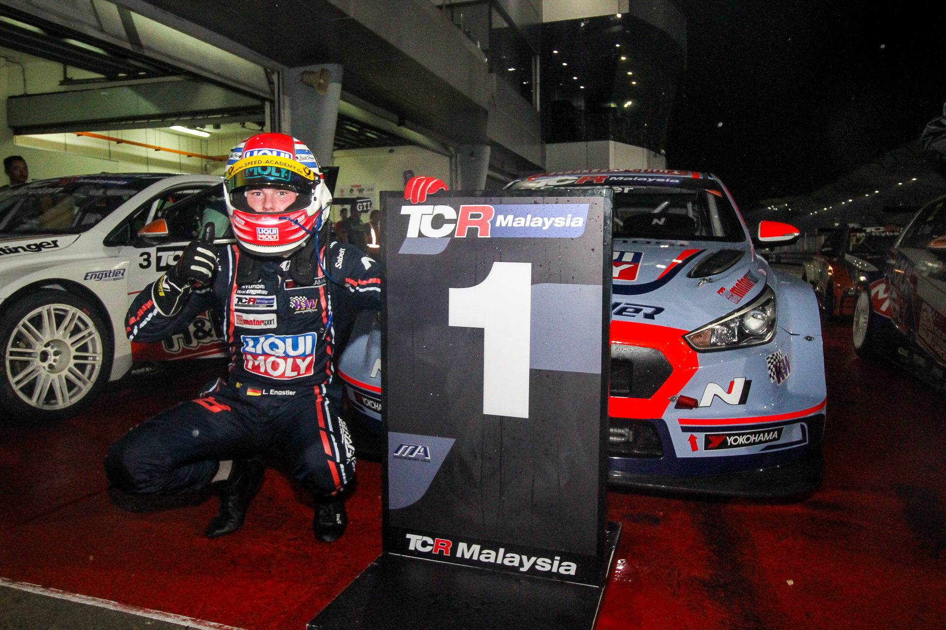 Luca Engstler - i30 N TCR - TCR Malaysia, Sepang International Circuit