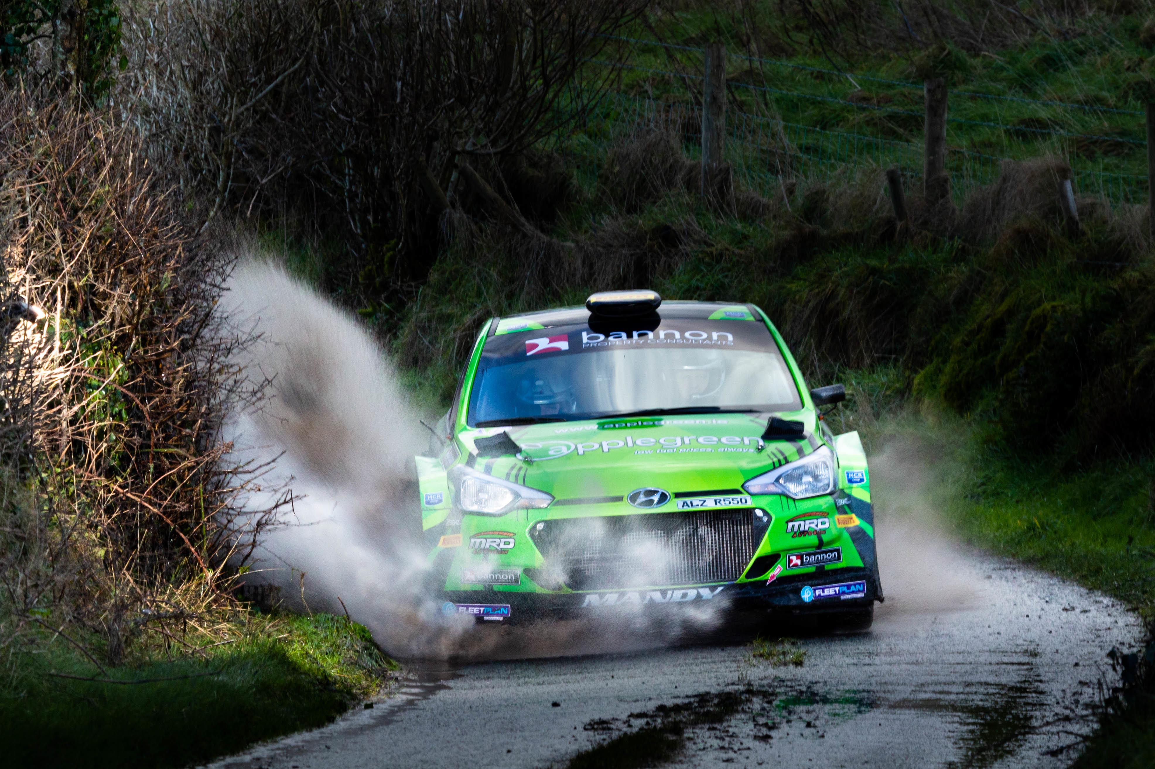 Manus Kelly - i20 R5 - Galway International Rally