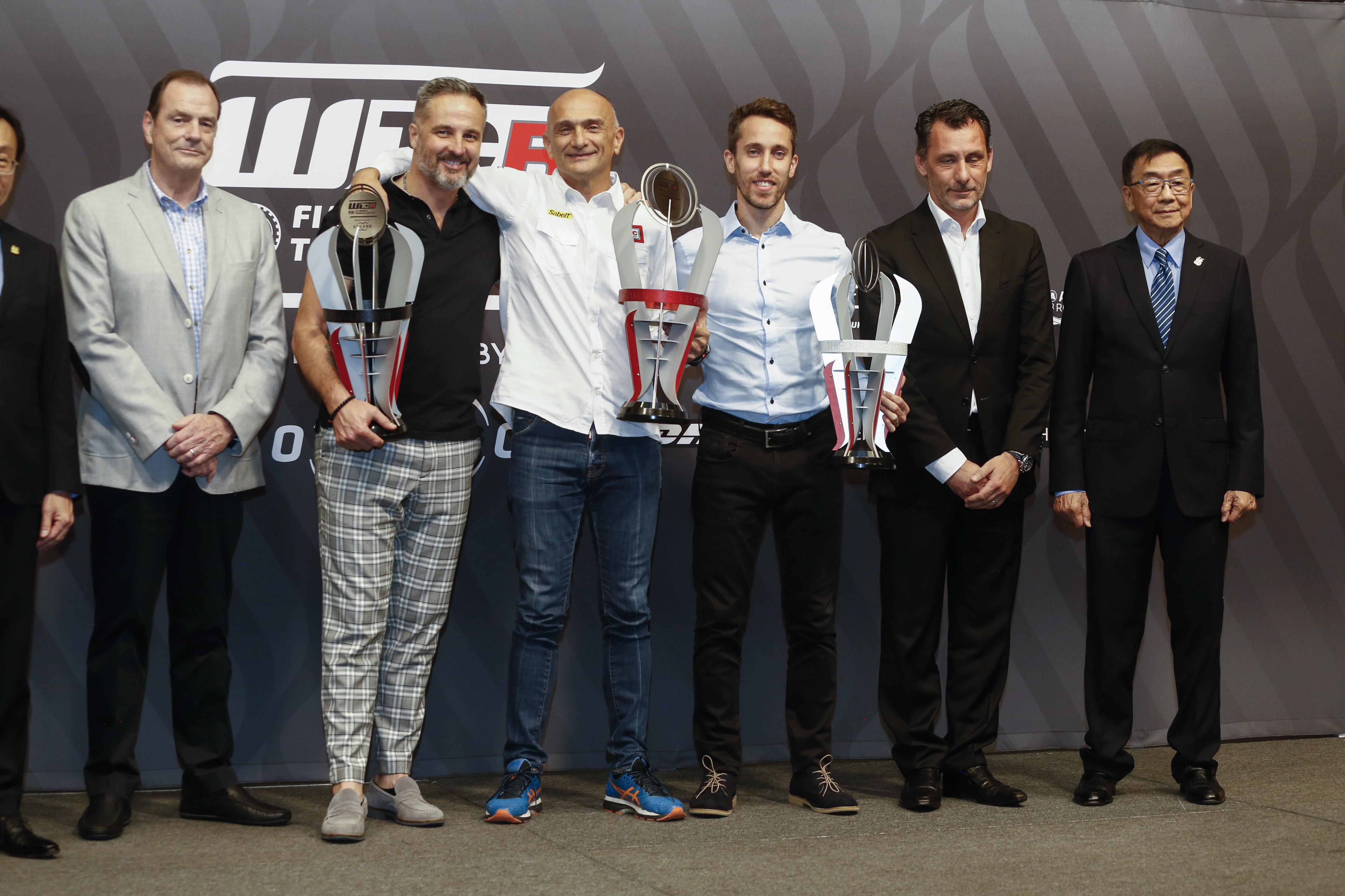 FIA WTCR - 2018 winning drivers