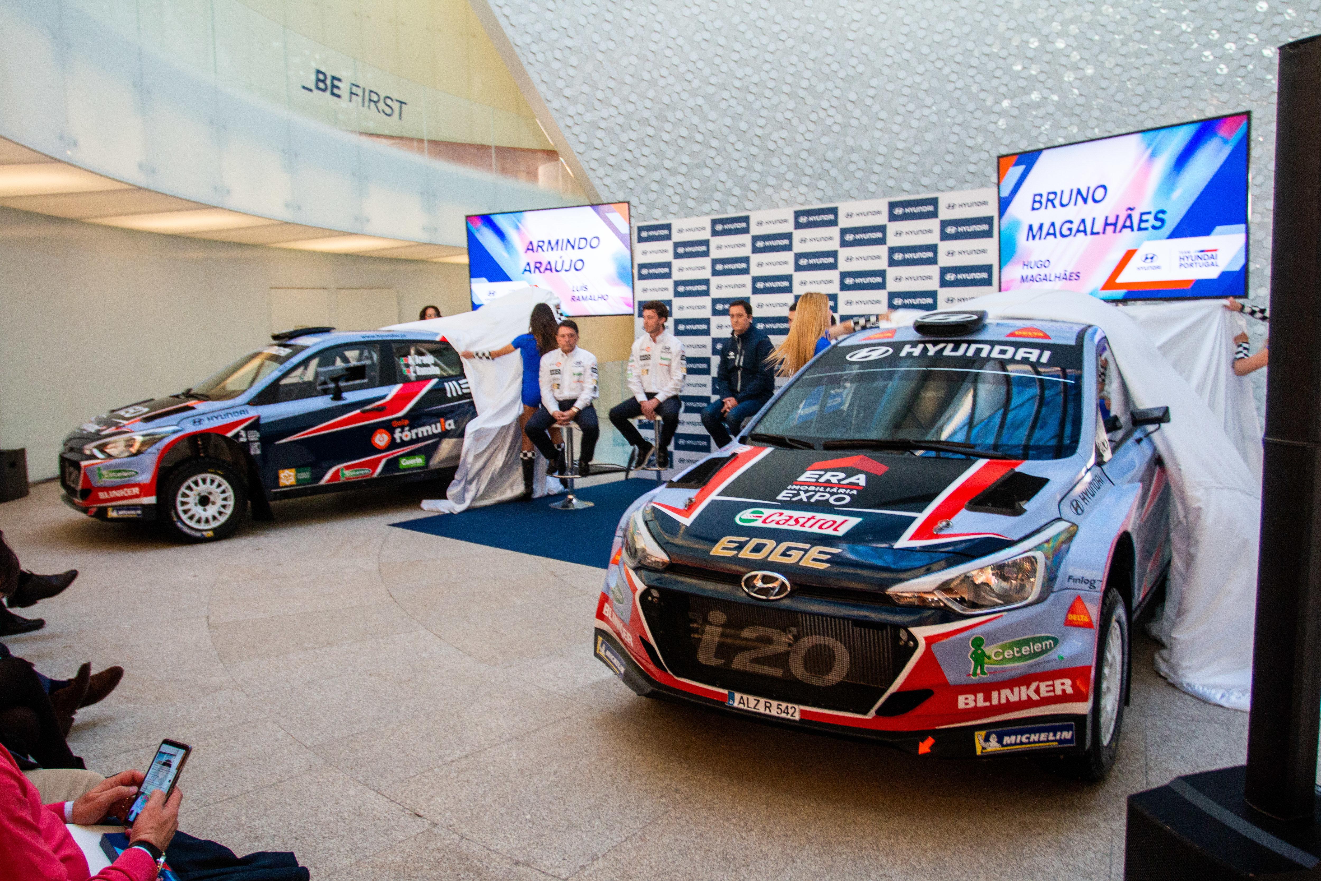 Team Hyundai Portugal - 2019 Team Launch