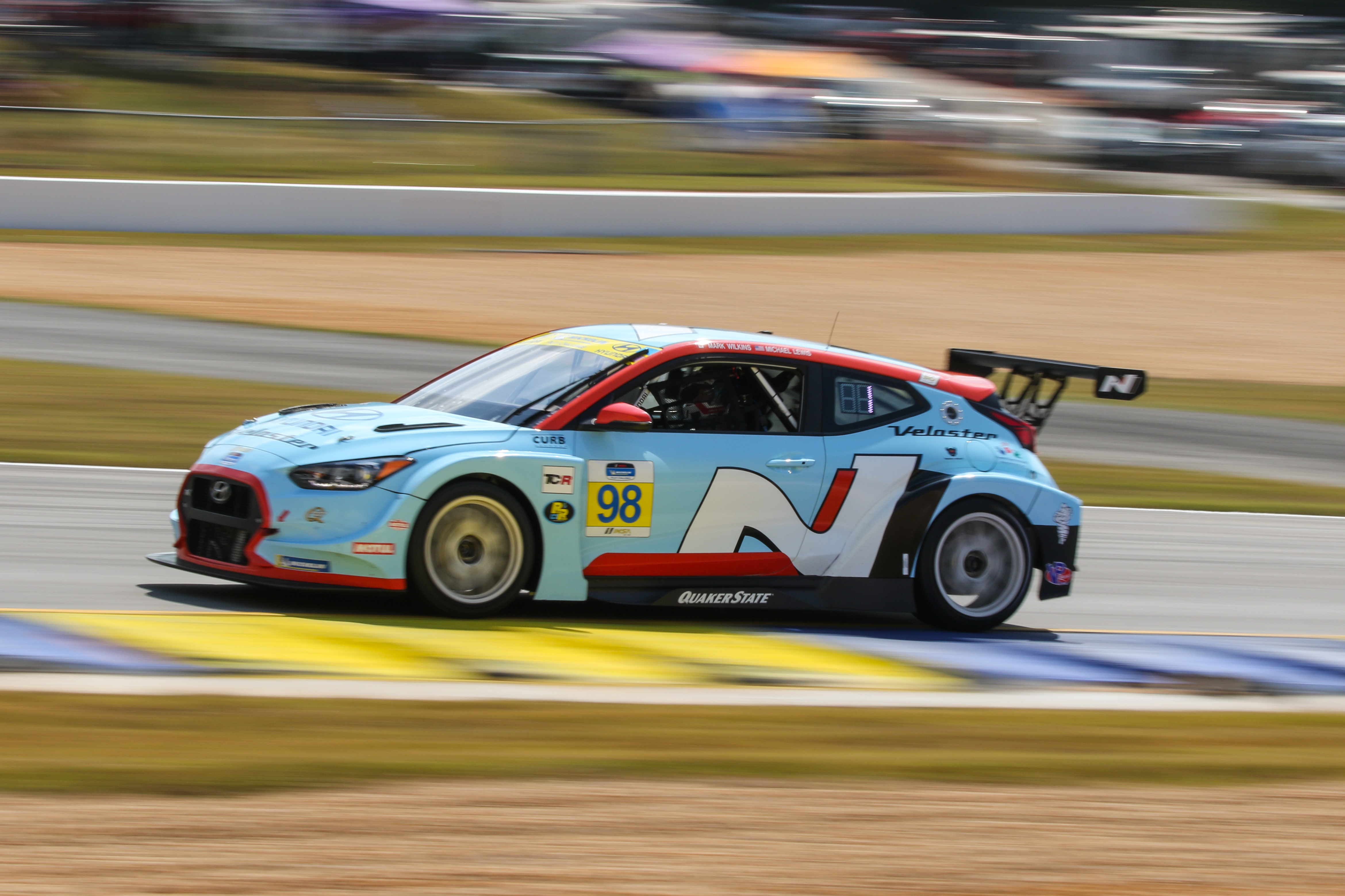 Michael Lewis/Mark Wilkins - Veloster N TCR - Road Atlanta