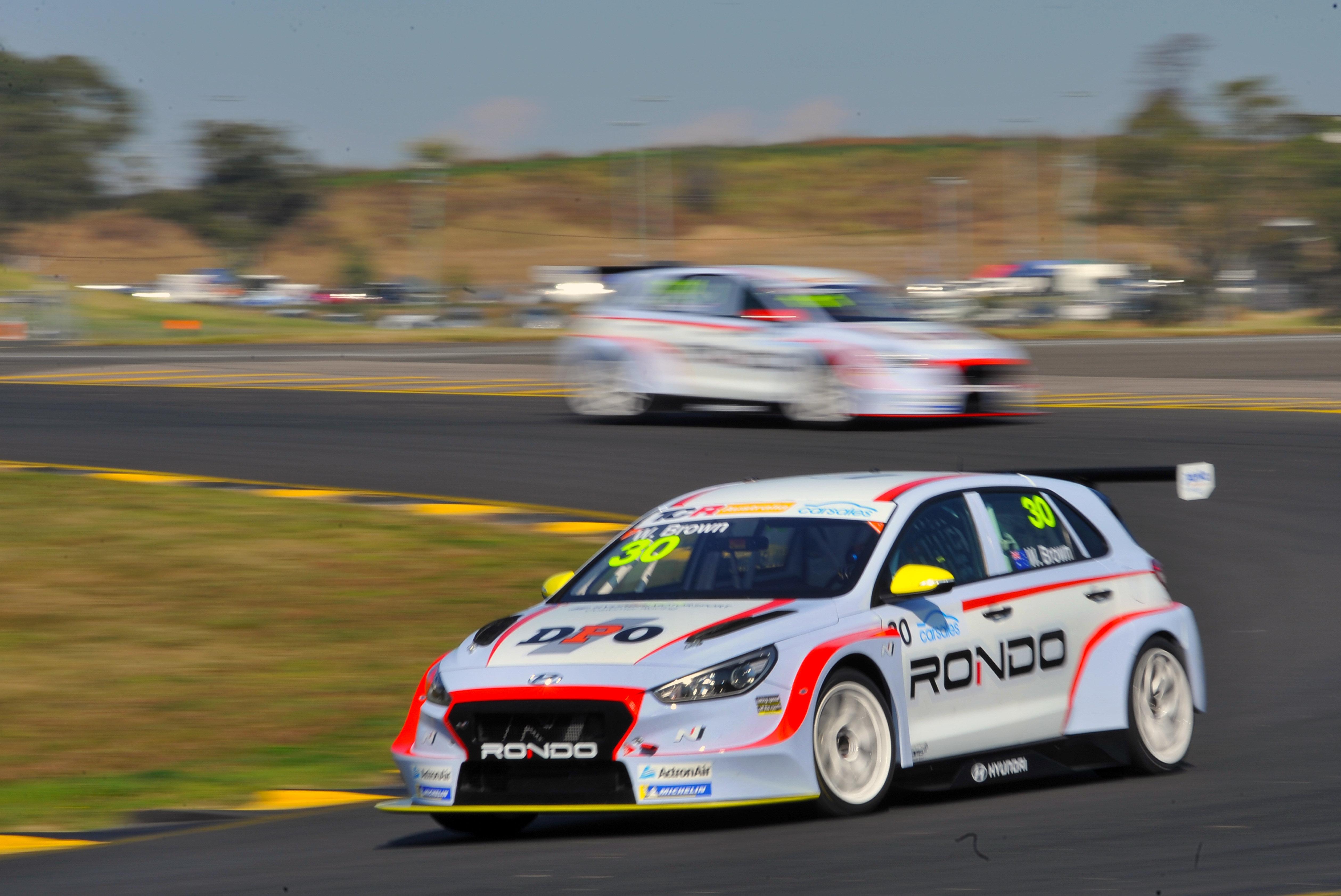Will Brown - TCR Australia - Sydney Motorsports Park