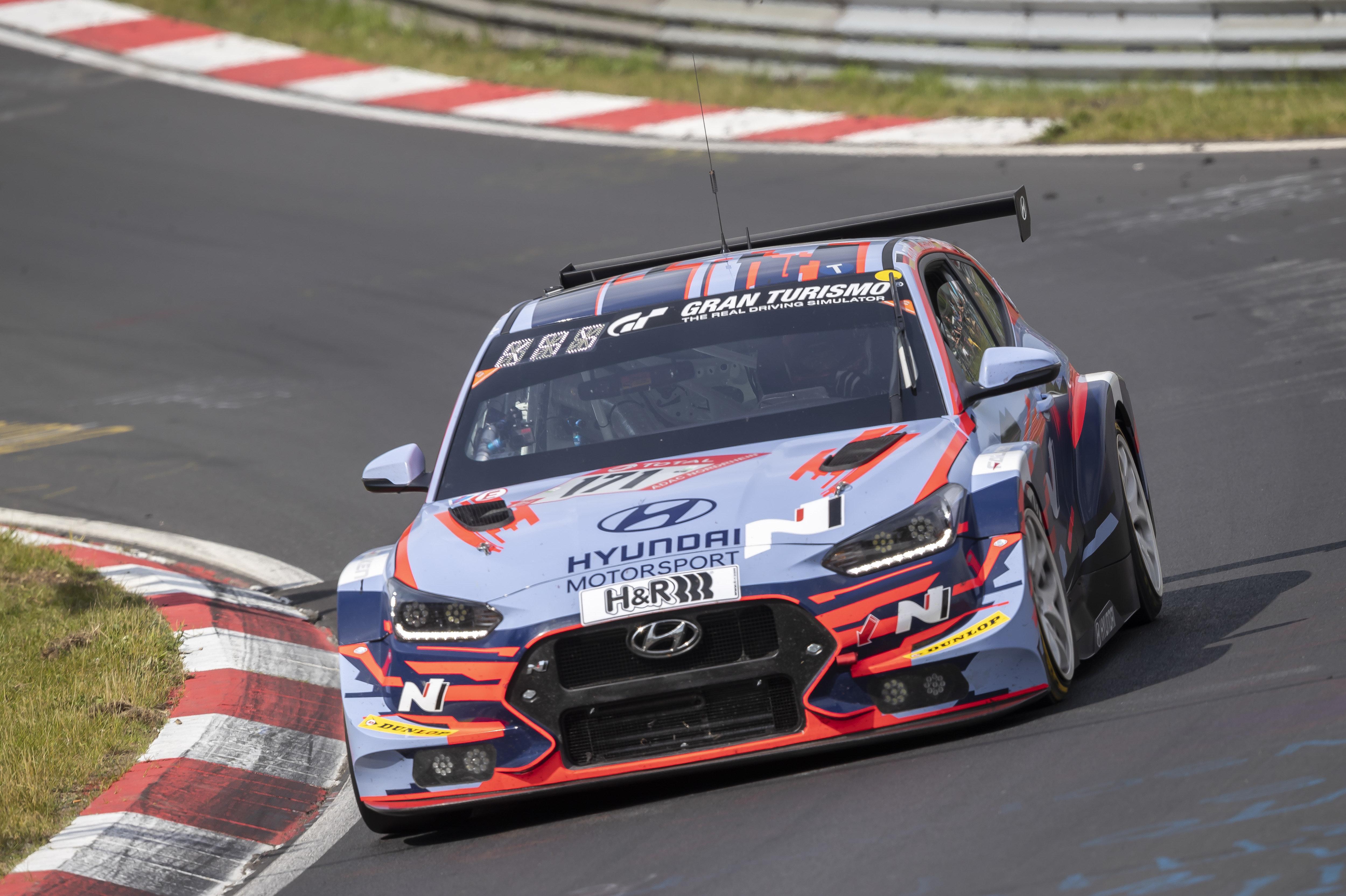 Veloster N TCR - Nürburgring 24 Hours