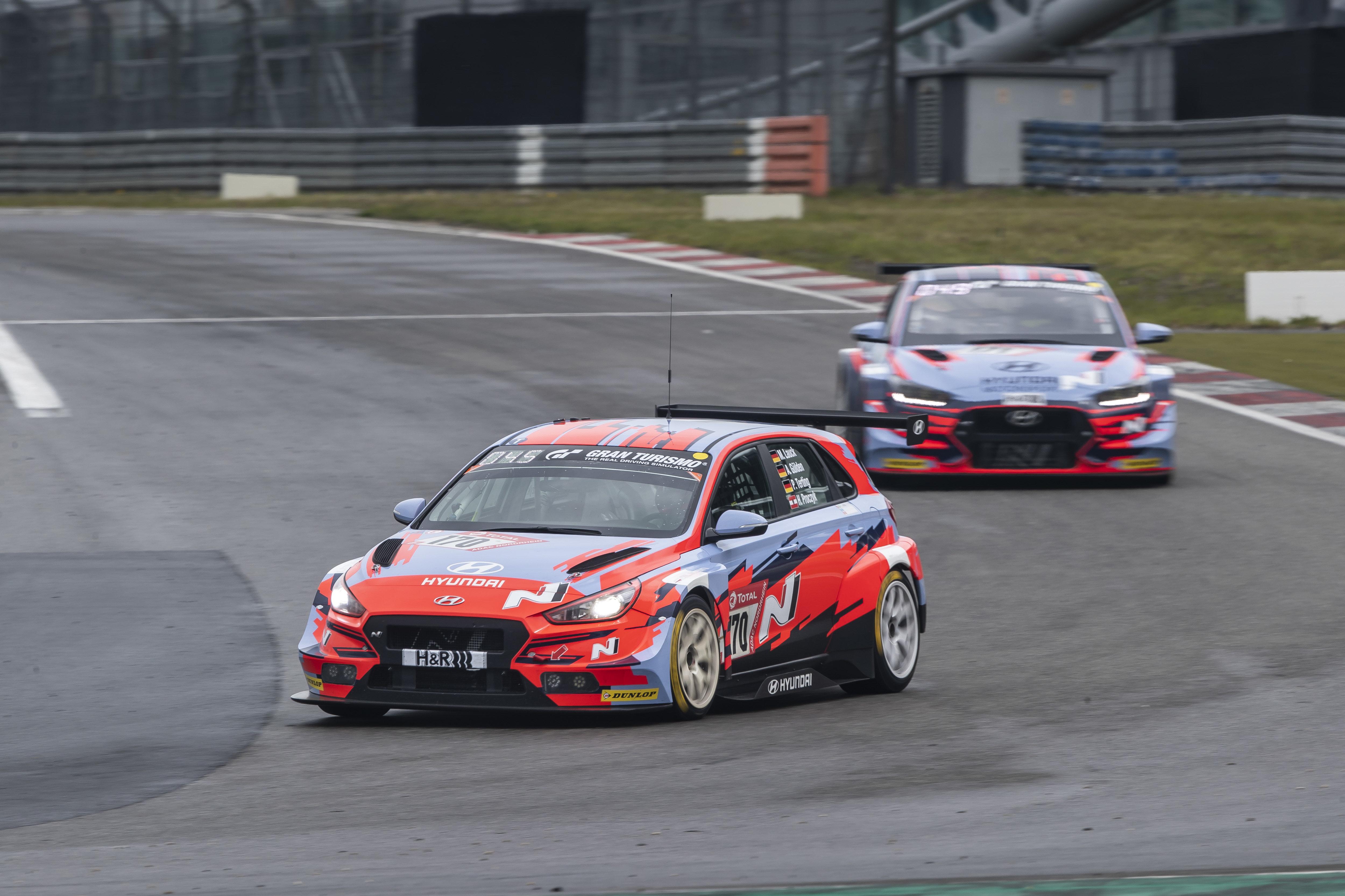 Hyundai Motorsport TCR teams - Nürburgring 24 Hours Qualifying Race